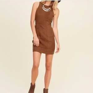 Hollister Faux Suede Dress